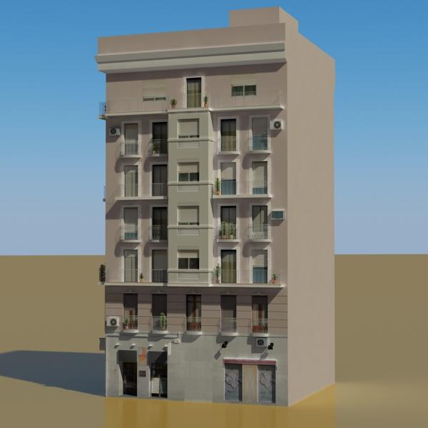 building 29 3d model 3ds max fbx texture obj 151126