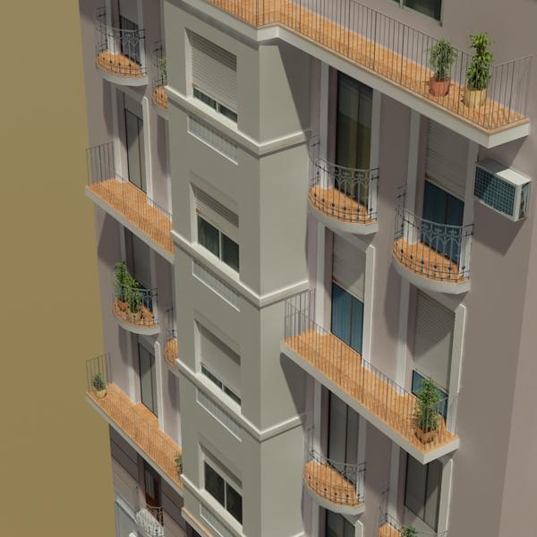 building 29 3d model 3ds max fbx texture obj 151131