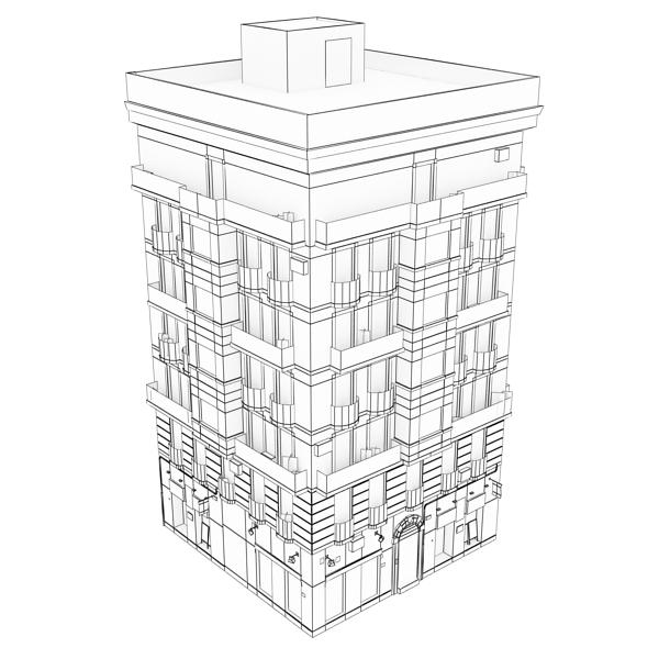 building 29 3d model 3ds max fbx texture obj 151135