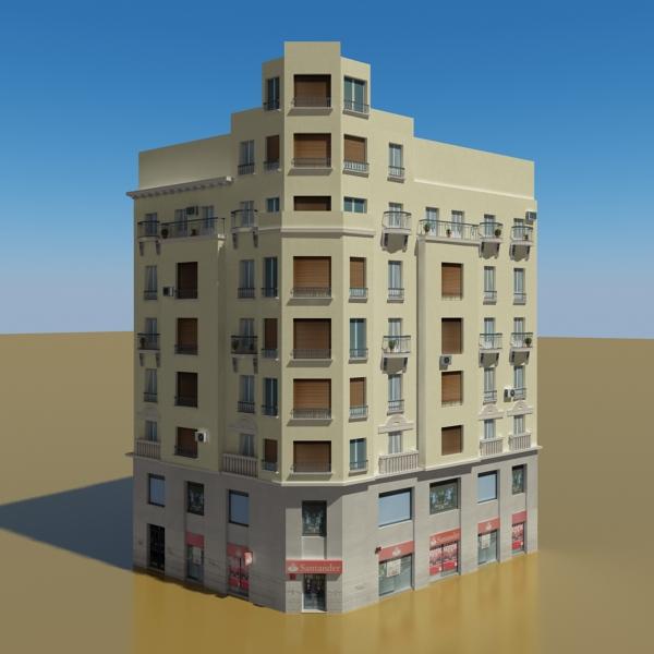 building 38 3d model 3ds max fbx texture obj 151779