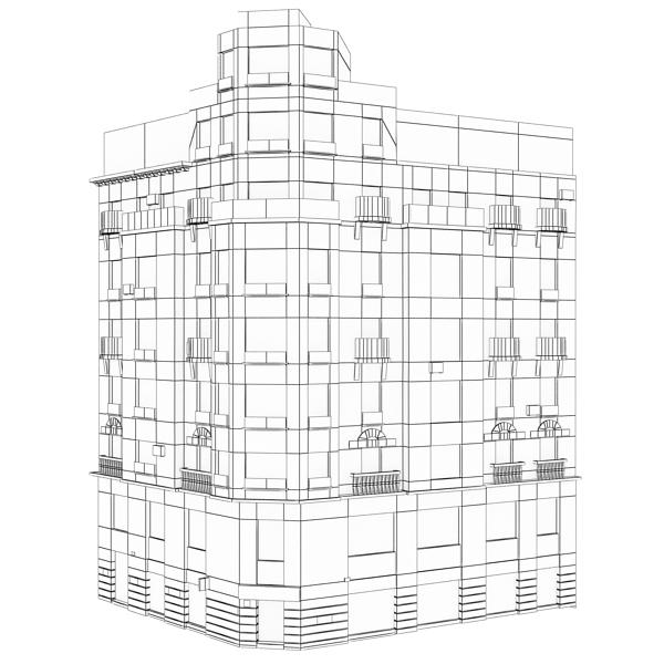 building 38 3d model 3ds max fbx texture obj 151788