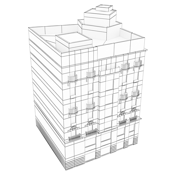 building 38 3d model 3ds max fbx texture obj 151789