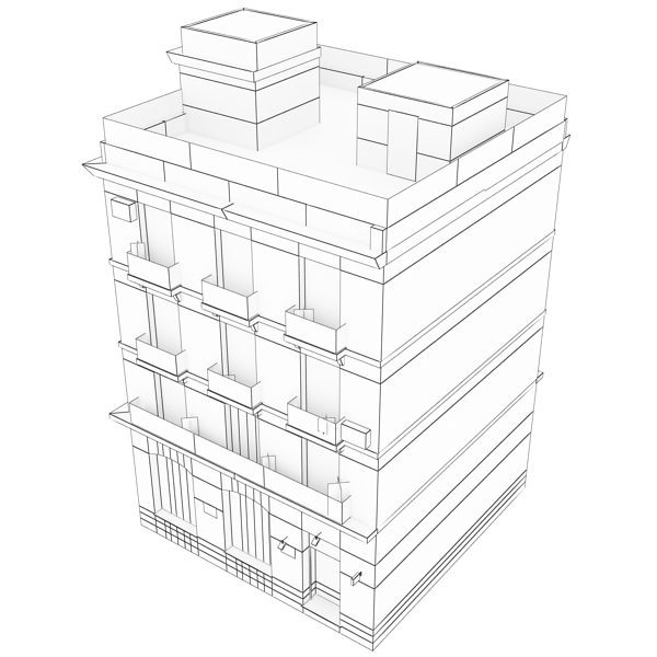 Building 47 3d Model