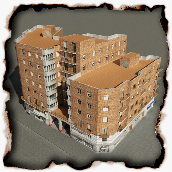 building 53 3d model 3ds max fbx texture obj 153569