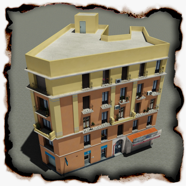 building 60 3d model 3ds max fbx texture obj 154016