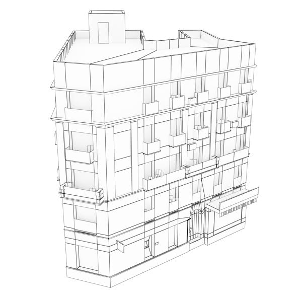 building 60 3d model 3ds max fbx texture obj 154027