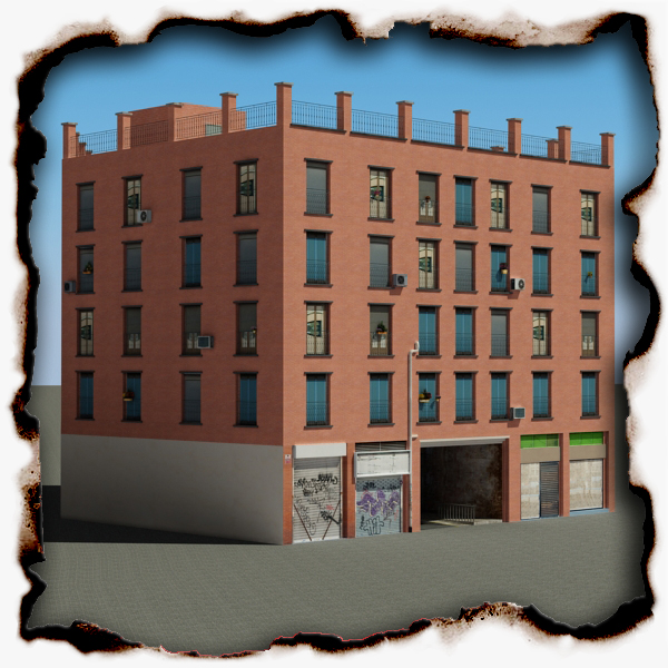 building 63 3d model 3ds max fbx texture obj 154257
