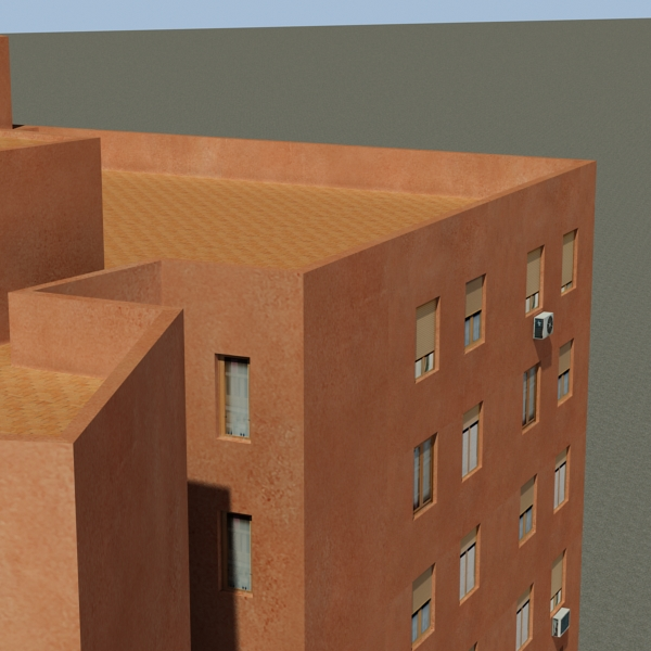 building 64 3d model 3ds max fbx texture obj 154297