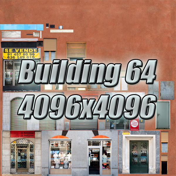 building 64 3d model 3ds max fbx texture obj 154302