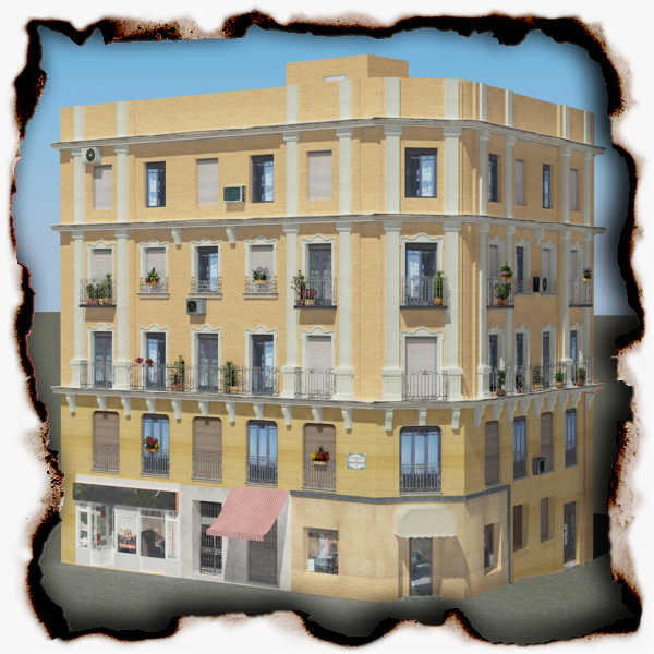 building 66 3d model 3ds max fbx texture obj 155315