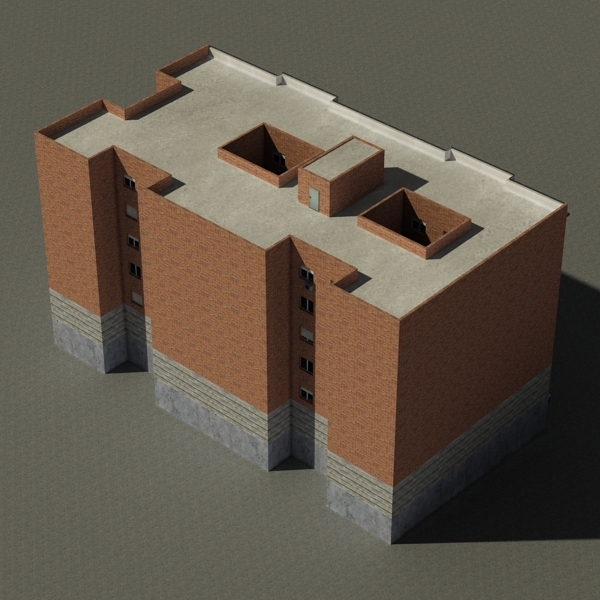 building 71 3d model 3ds max fbx texture obj 155637