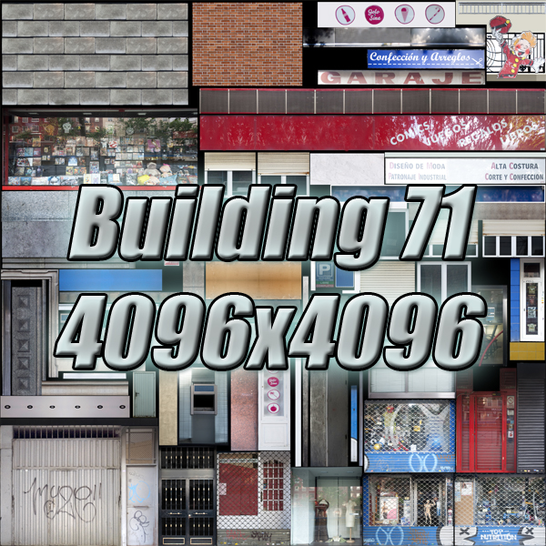 building 71 3d model 3ds max fbx texture obj 155649