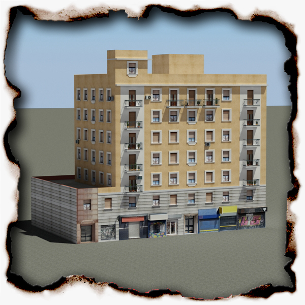 building 73 3d model 3ds max fbx texture obj 156181