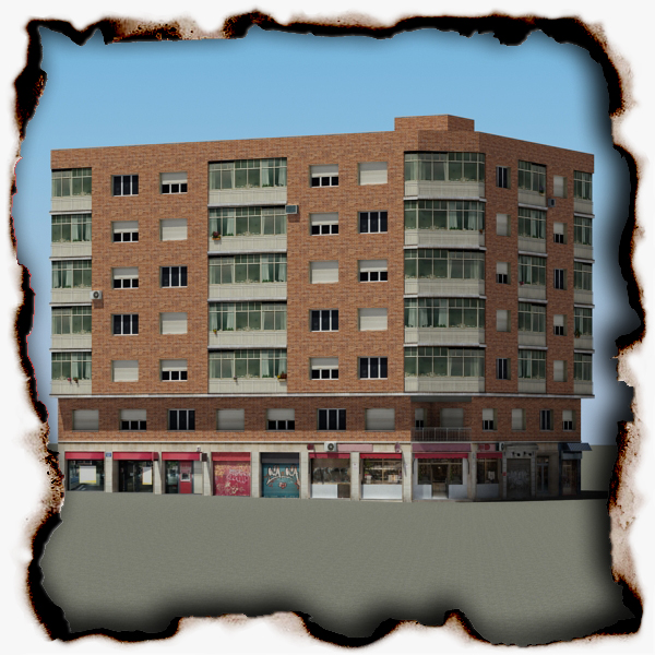 building 74 3d model 3ds max fbx texture obj 156206