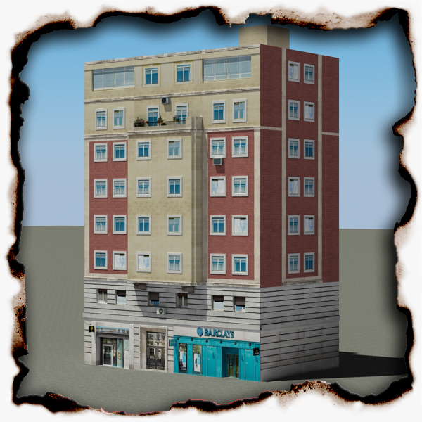 building 78 3d model 3ds max fbx texture obj 156808