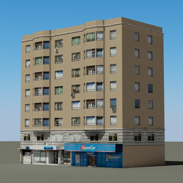 building 79 3d model 3ds max fbx texture obj 156874