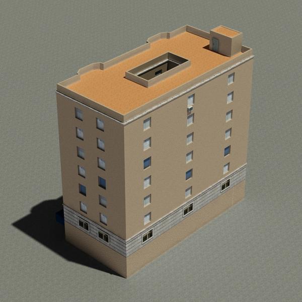 building 79 3d model 3ds max fbx texture obj 156875