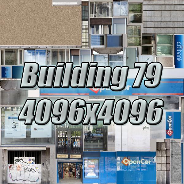 building 79 3d model 3ds max fbx texture obj 156883