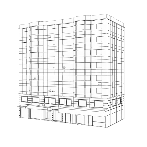 building 79 3d model 3ds max fbx texture obj 156884