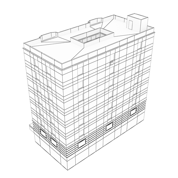 building 79 3d model 3ds max fbx texture obj 156885
