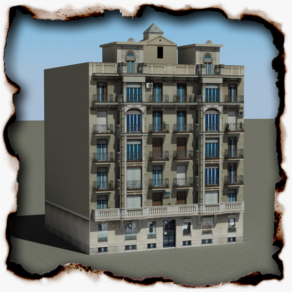 building 83 3d model 3ds max fbx texture obj 157015