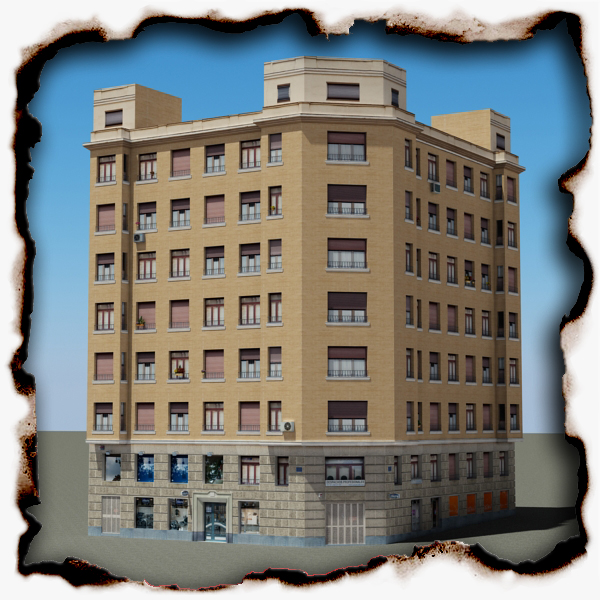 building 85 3d model 3ds max fbx texture obj 157216