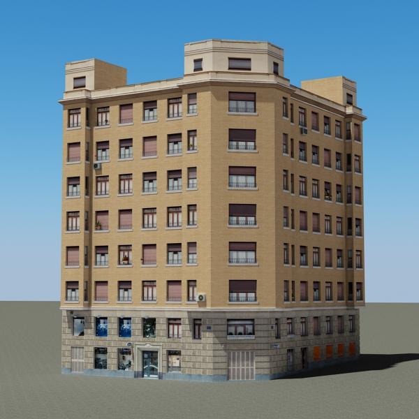 building 85 3d model 3ds max fbx texture obj 157217