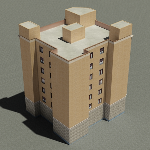 building 85 3d model 3ds max fbx texture obj 157218