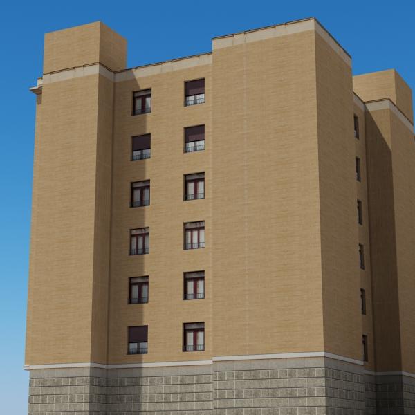 building 85 3d model 3ds max fbx texture obj 157224