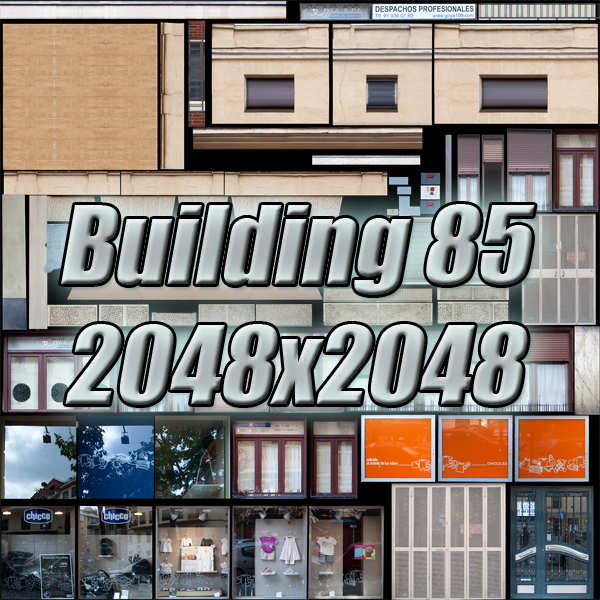 building 85 3d model 3ds max fbx texture obj 157227
