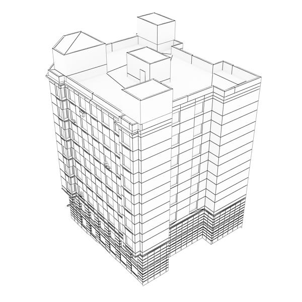 building 85 3d model 3ds max fbx texture obj 157229