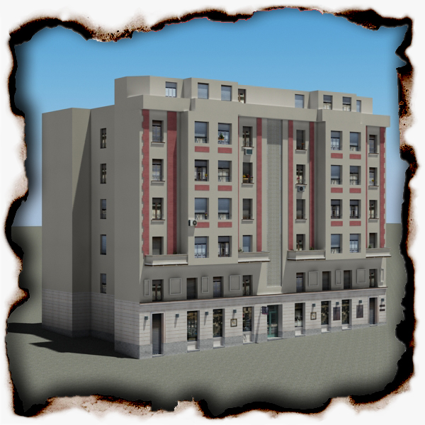 building 87 3d model 3ds max fbx texture obj 157367