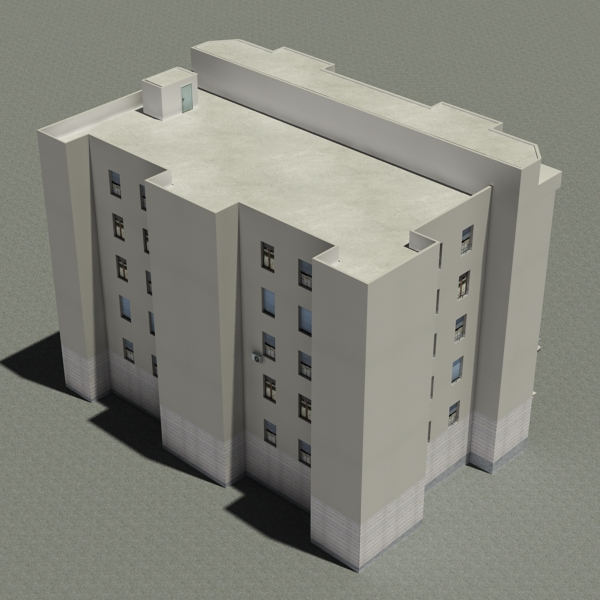 building 87 3d model 3ds max fbx texture obj 157369