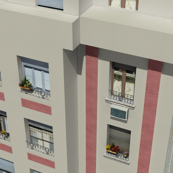 building 87 3d model 3ds max fbx texture obj 157373