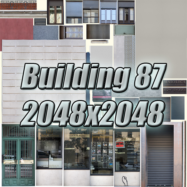 building 87 3d model 3ds max fbx texture obj 157378