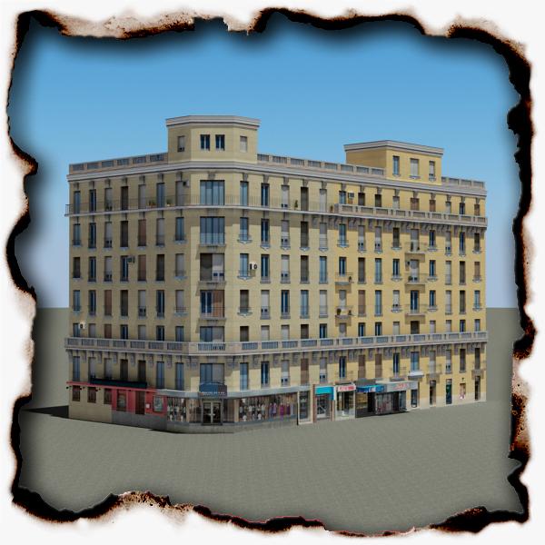 ēka 89 3d modelis 3ds max fbx faktūra obj 157513