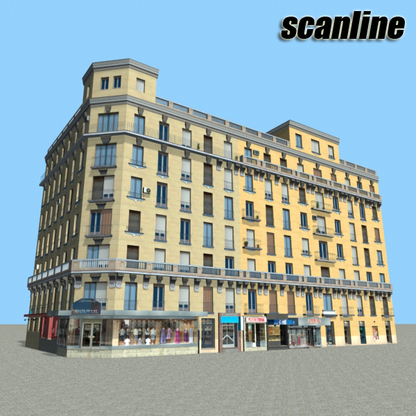 building 89 3d model 3ds max fbx texture obj 157524