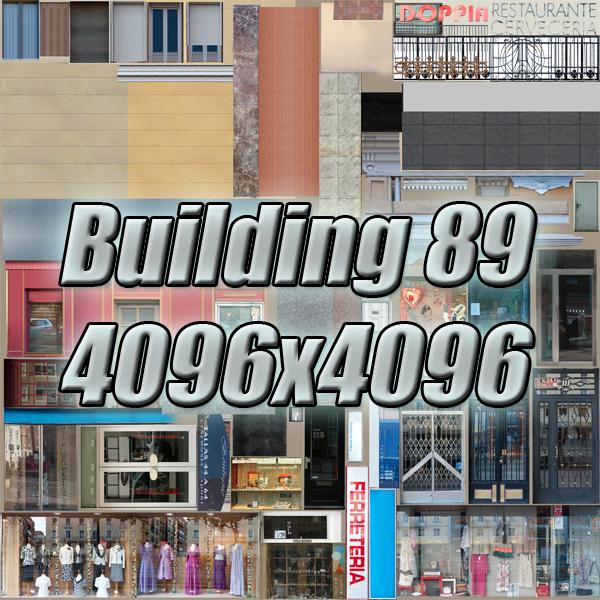 building 89 3d model 3ds max fbx texture obj 157525