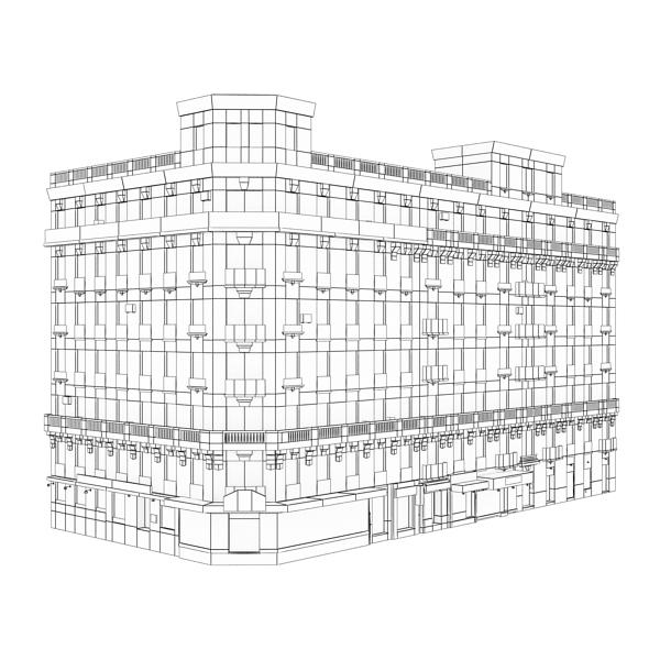 building 89 3d model 3ds max fbx texture obj 157527