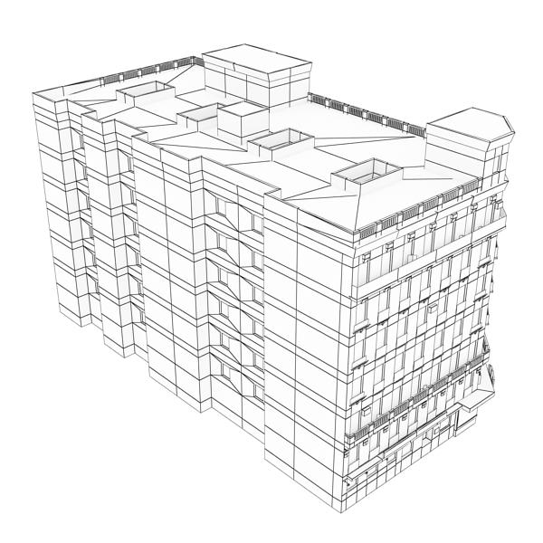 building 89 3d model 3ds max fbx texture obj 157528