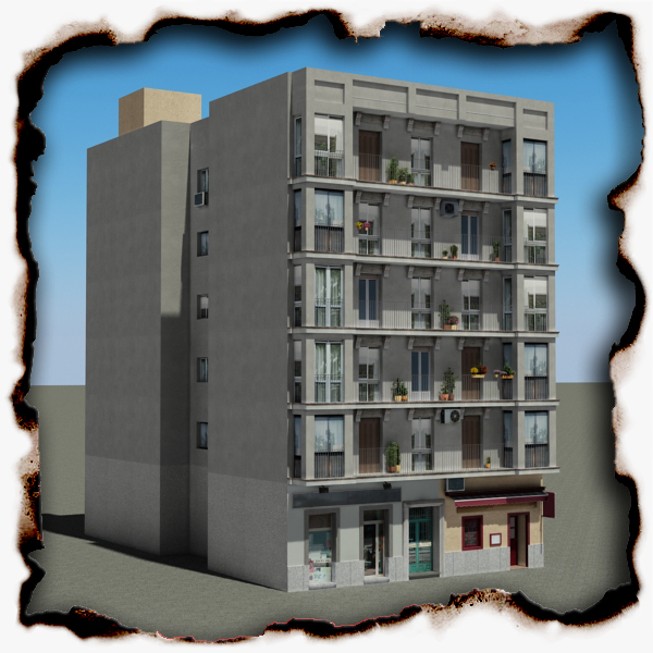 ēka 92 3d modelis 3ds max fbx faktūra obj 157590