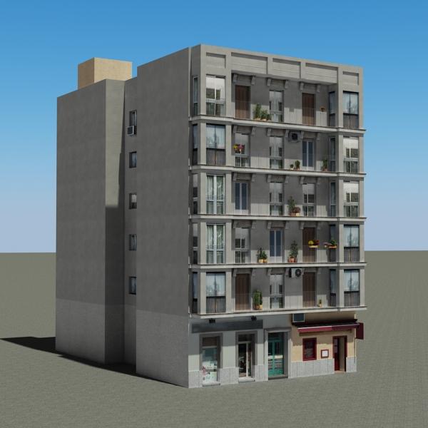 building 92 3d model 3ds max fbx texture obj 157591