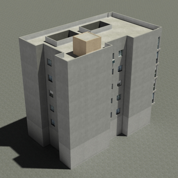 building 92 3d model 3ds max fbx texture obj 157592