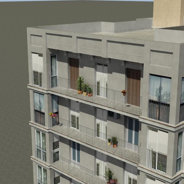 building 92 3d model 3ds max fbx texture obj 157596