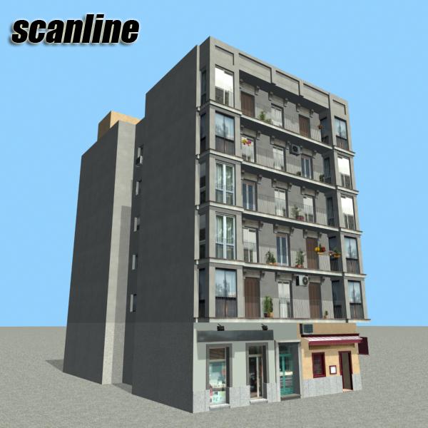 building 92 3d model 3ds max fbx texture obj 157599