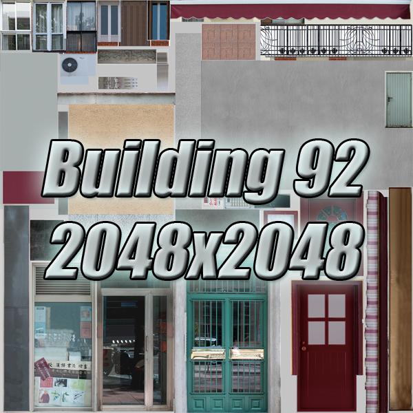 building 92 3d model 3ds max fbx texture obj 157601