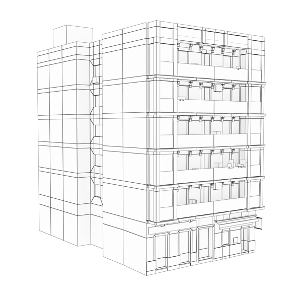 building 92 3d model 3ds max fbx texture obj 157602