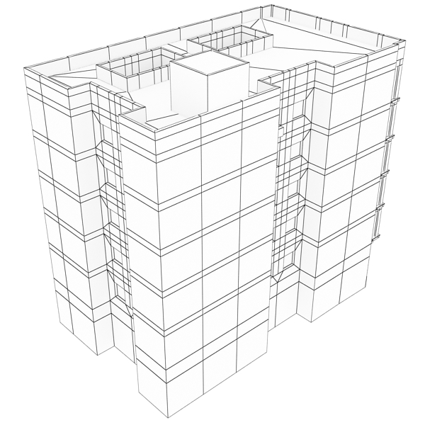 building 92 3d model 3ds max fbx texture obj 157603