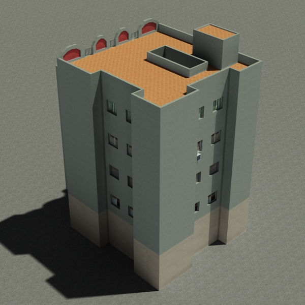 building 93 3d model 3ds max fbx texture obj 157607