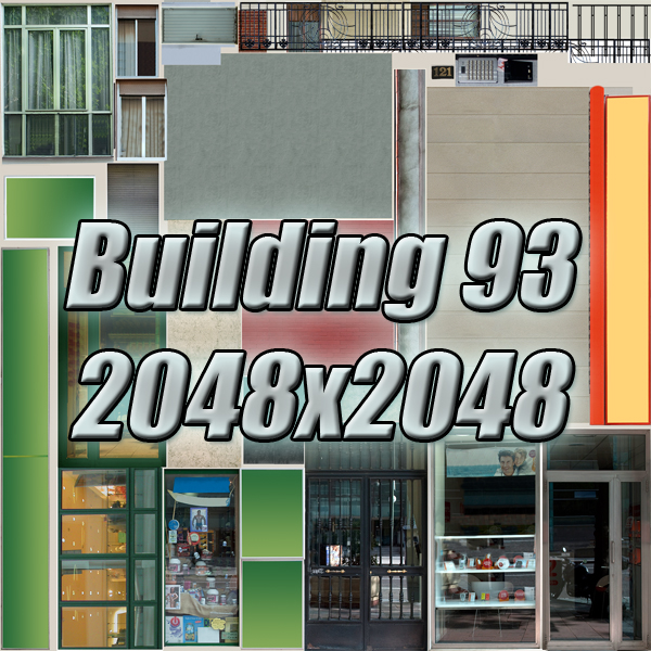building 93 3d model 3ds max fbx texture obj 157616